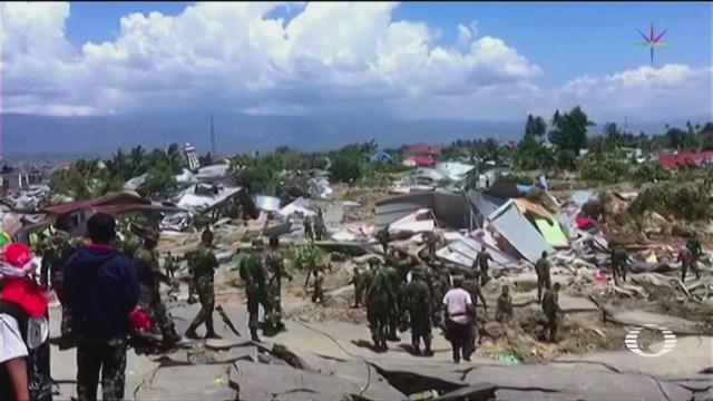Continúa Búsqueda Desaparecidos Indonesia Terremoto Tsunami