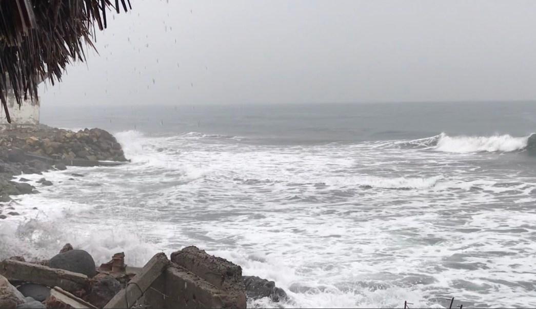Clima Colima; emiten alerta por mar de fondo