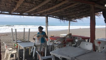 Clima Colima hoy; se registra fuerte oleaje
