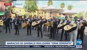 Mariachis preparan gran serenata en Garibaldi