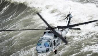 Capacitan a marinos mexicanos en simulador de tormentas y hundimientos