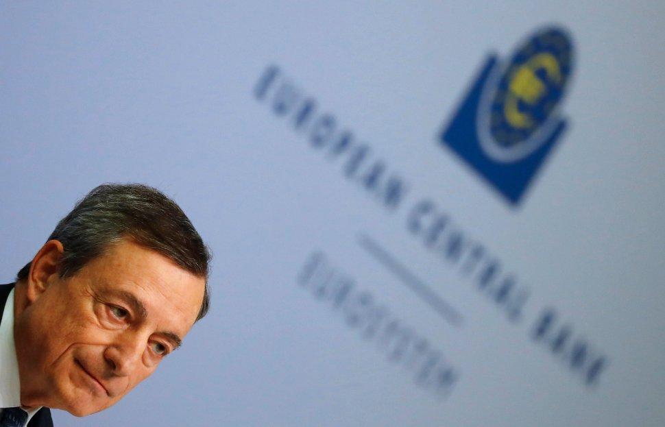 Mario Draghi ofrece conferencia de prensa tras anuncio de política monetaria del BCE en Frankfurt (Reuters)