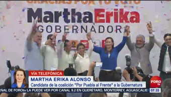 Martha Erika Alonso Seré la primera gobernadora de Puebla