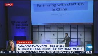 Inaugura cumbre de negocios de Harvard en México