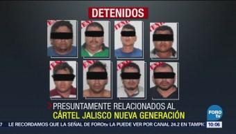 Detienen en Tabasco a célula criminal del CJNG