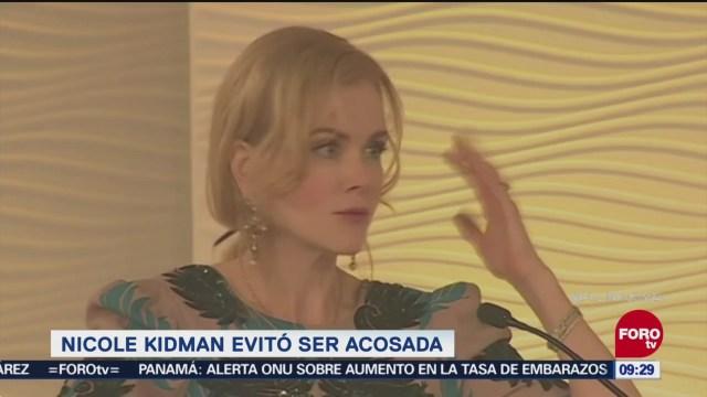 Nicole Kidman evitó ser acosada en Hollywood