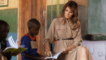 Melania Trump llega a Malaui, segunda parte gira en África
