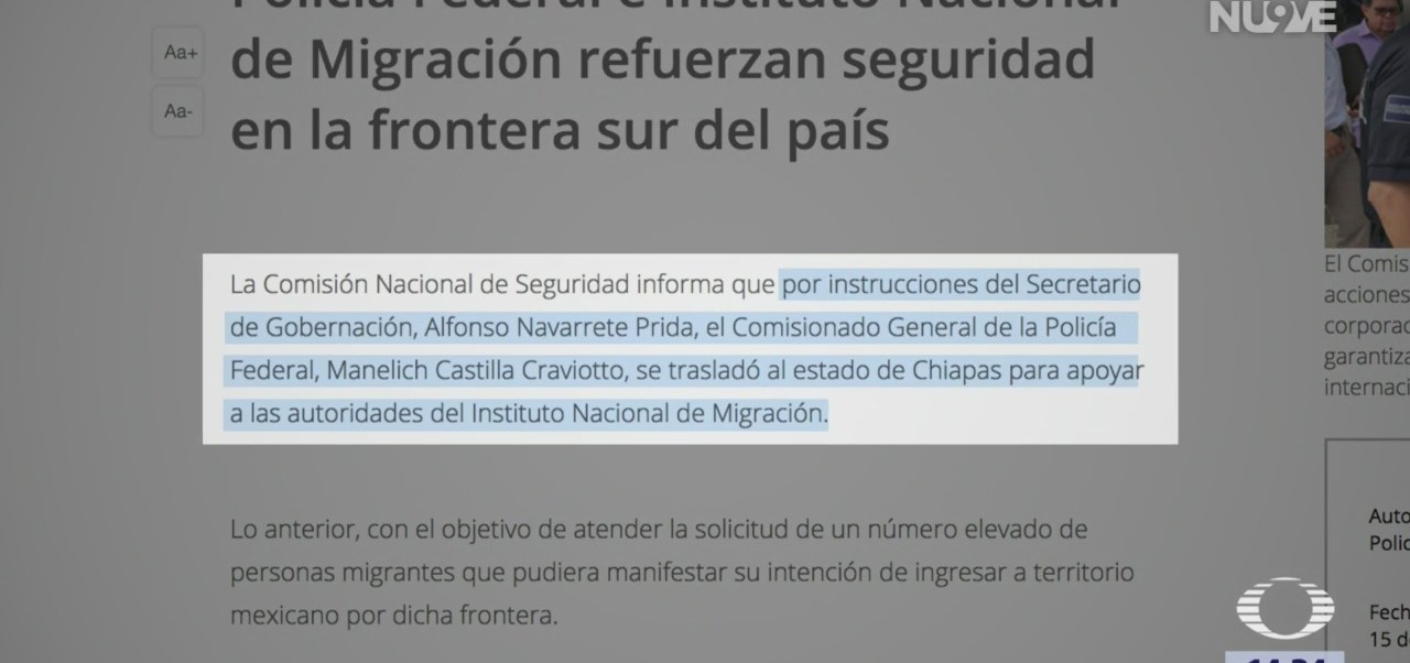 México se prepara para llegada de miles de migrantes centroamericanos
