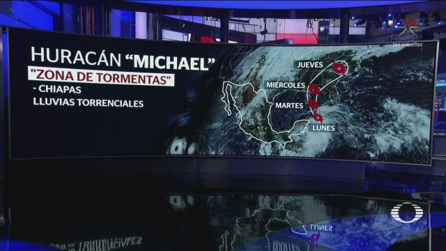Michael Convierte Huracán Categoría Quinta Roo