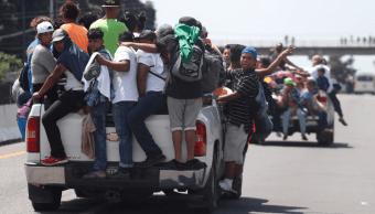 EPN pide a caravana migrante apegarse a legalidad