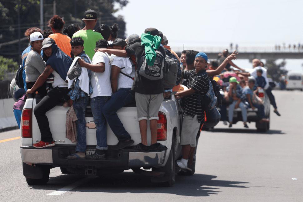 Miembros de la Caravana migrante llegan a Chiapas, México. (AP)