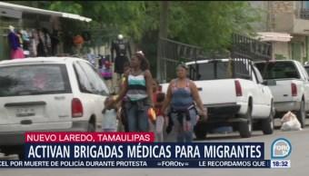 Migrantes africanos buscan refugio en México
