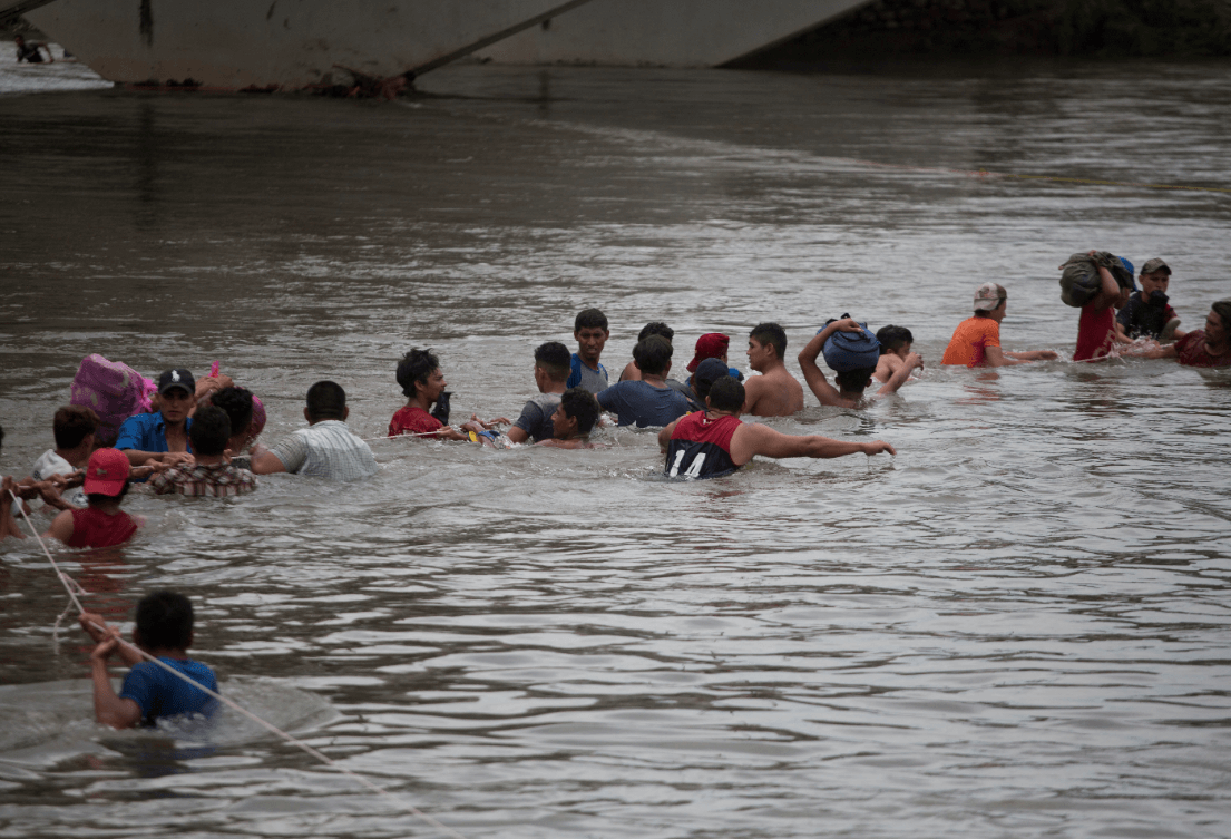 7.000 personas conforman caravana de migrantes centroamericanos — ONU