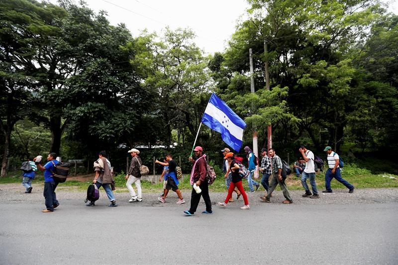 Migrantes en México; tendrán libre tránsito por Chiapas