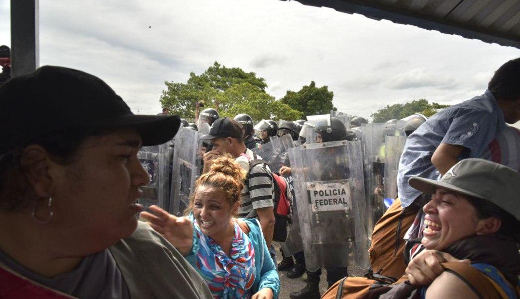 Medios internacionales abordan la irrupción de la caravana