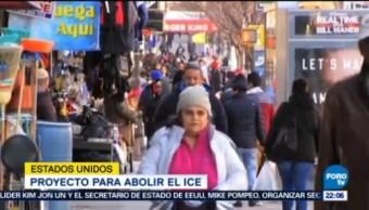 Migrantes Mexicanos Presentan Iniciativa Abolir Ice