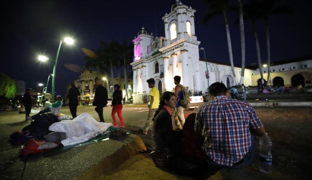 PAN: Paso de migrantes centroamericanos por México