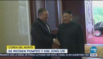 Mike Pompeo Reúne Kim Jong Un