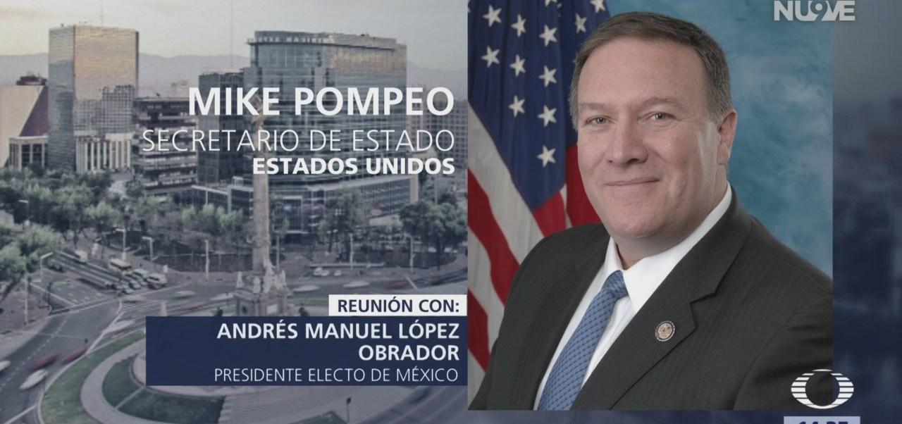 Mike Pompeo visitará México el viernes