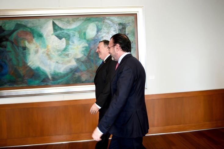 Mike Pompeo y Luis Videgaray se reunieron