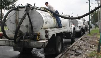 Mil 200 pipas abastecerán de agua