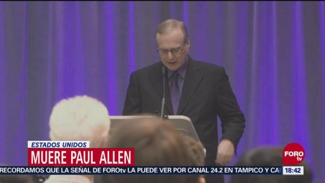 Muere Paul Allen, cofundador de Microsoft