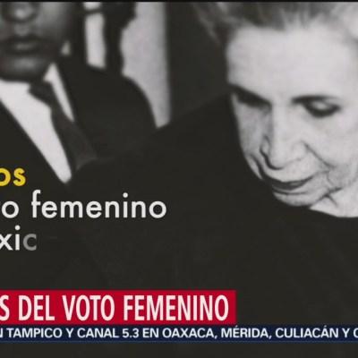 Mujeres en México y el derecho al voto