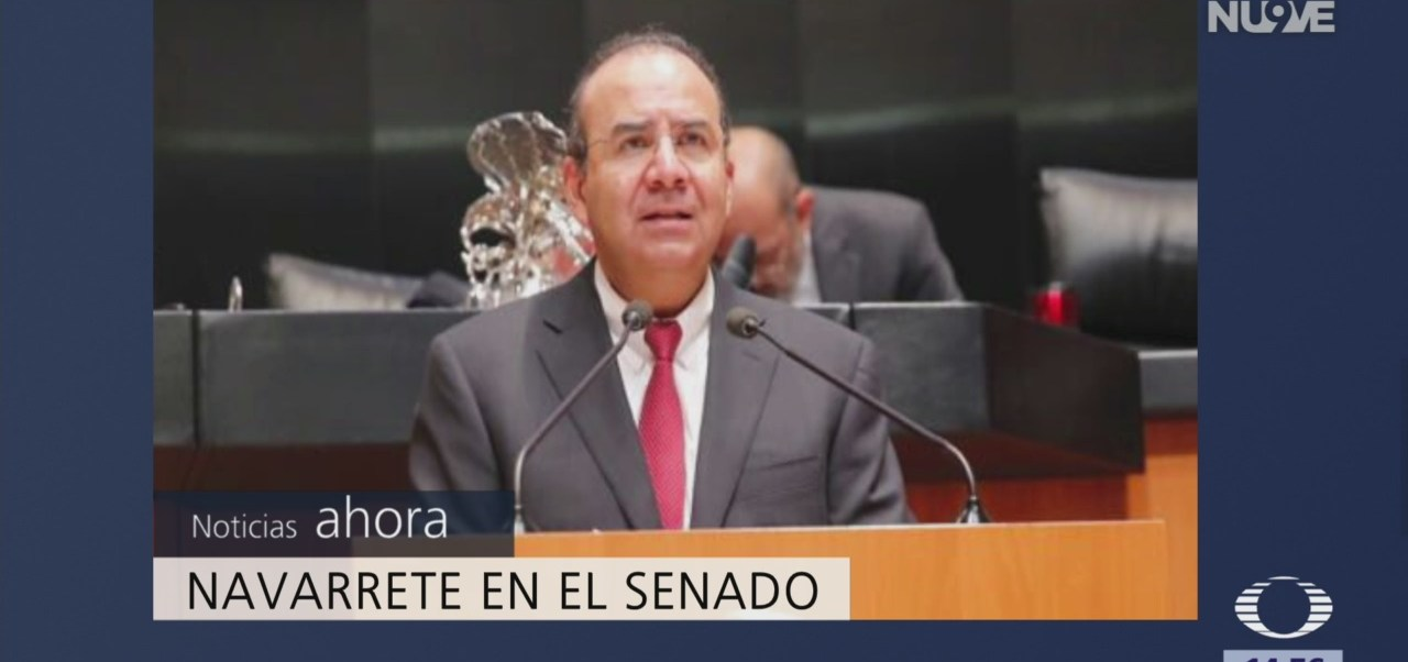 Navarrete Prida comparece en el Senado