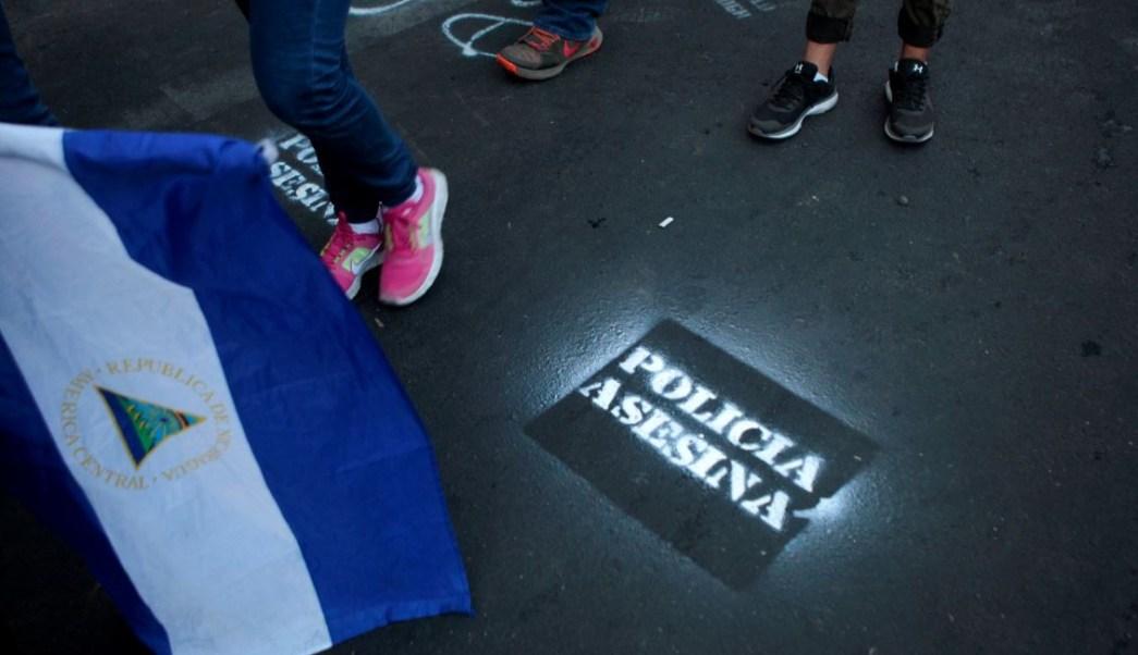 nicaraguenses de caravana migrante huyen del regimen de daniel ortega