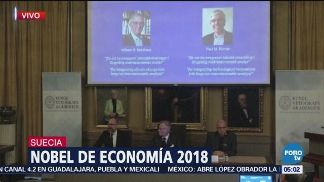Nobel de Economía 2018 para los estadounidenses