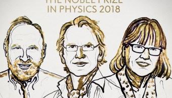 Nobel Física para Ashkin, Mourou y Strickland por invenciones en física láser