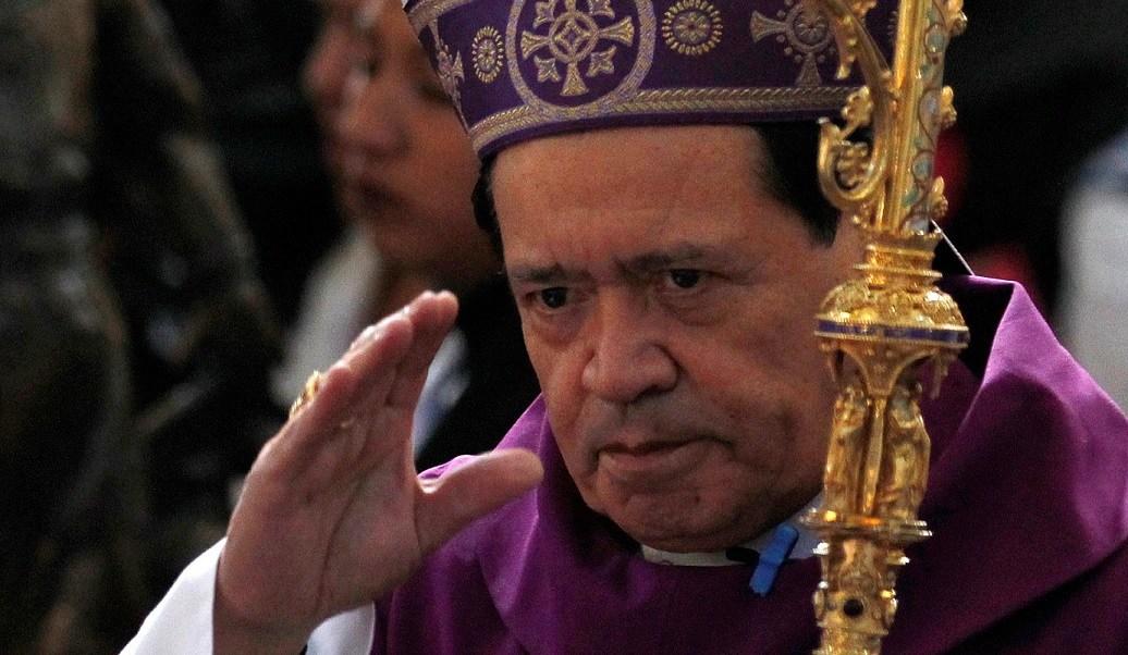 Vaticano se solidariza con el cardenal Norberto Rivera tras ataque