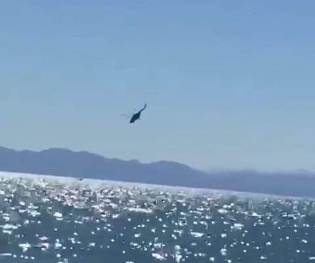 helicoptero marina cae sonora golfo californira