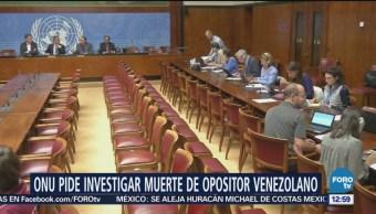 ONU pide investigar muerte de venezolano implicado