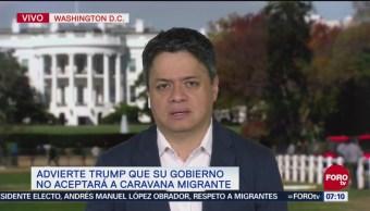Operación para detener caravana migrante fue acordada entre EU y México