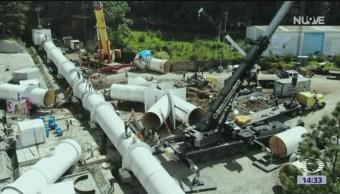 Trabajos mayores de mantenimiento en Cutzamala