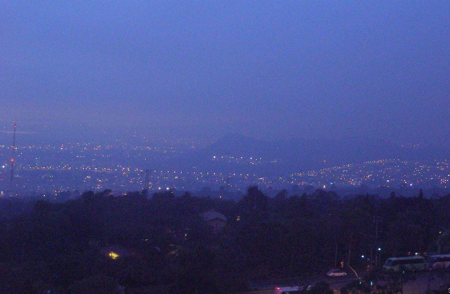 Buena calidad del aire en el Valle de México