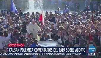 Papa Francisco compara al aborto con un asesinato de mafia