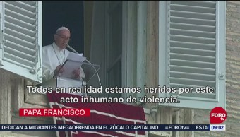 Papa Francisco Lamenta Ataque En Pittsburgh Sinagoga En Pittsburgh