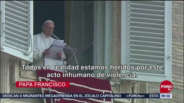 Papa Francisco Lamenta Ataque En Pittsburgh Sinagoga En Pittsburgh