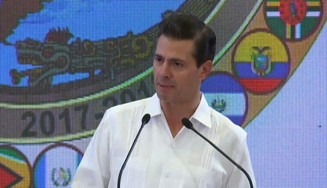 Peña Nieto clausura XIII Conferencia de Ministros de Defensa
