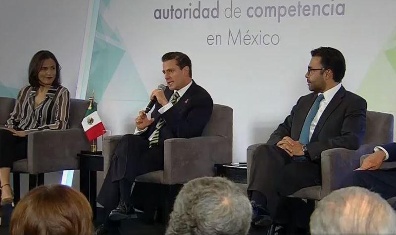 Peña Nieto defiende avances en competencia económica