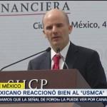Peso mexicano reaccionó bien al USMCA: González Anaya