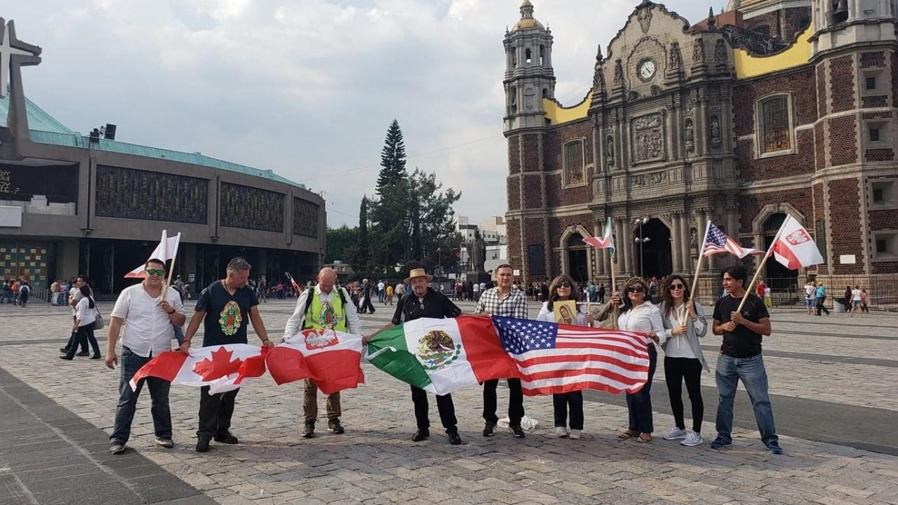 Polaco llega a la Basílica de Guadalupe tras cinco meses