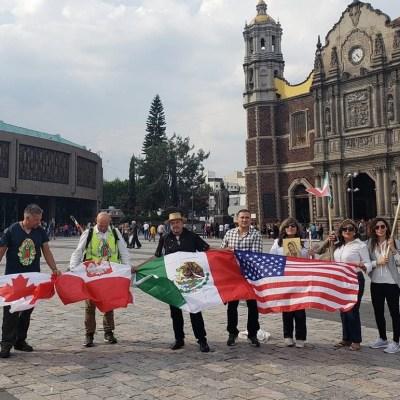 Polaco llega a la Basílica de Guadalupe tras cinco meses de peregrinación