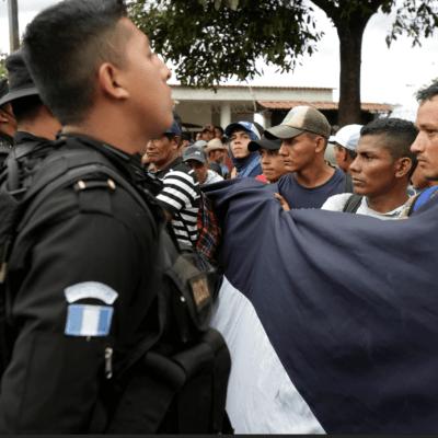 Guatemala ha detectado a pandilleros en la caravana migrante