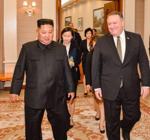 pompeo dice hay avances reunion kim jong un pionyang