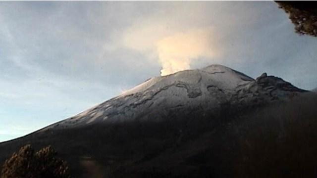 Popocatépetl realiza 88 exhalaciones en las últimas 24 horas
