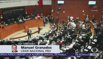 Por pago de una multa, los recursos del partido bajarán drásticamente, dice Manuel Granados