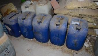 Destruye PGR más de 5 toneladas de precursores químicos en Querétaro